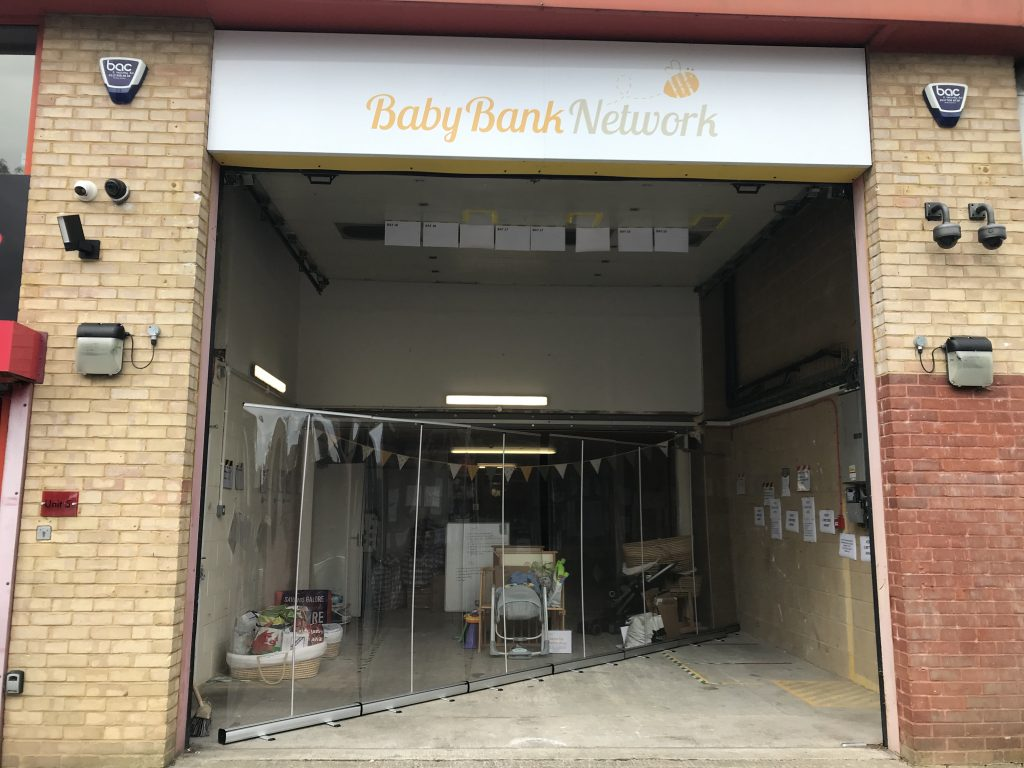 Baby Bank Network warehouse in Fishponds